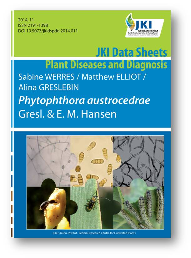Title page JKI Data Sheets - Plant Diseases and Diagnosis