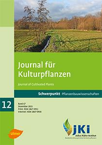 Ansehen Bd. 67 Nr. 12 (2015): Schwerpunkt Pflanzenbauwissenschaften