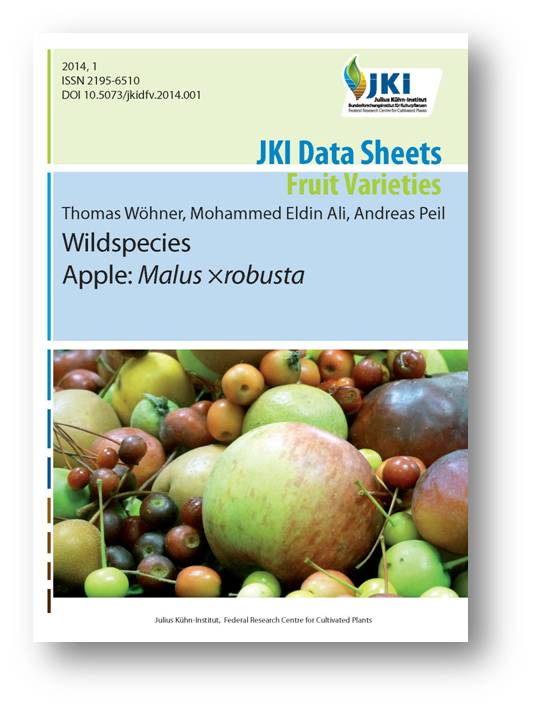 Titlepage of Data Sheets - Fruit Varieties