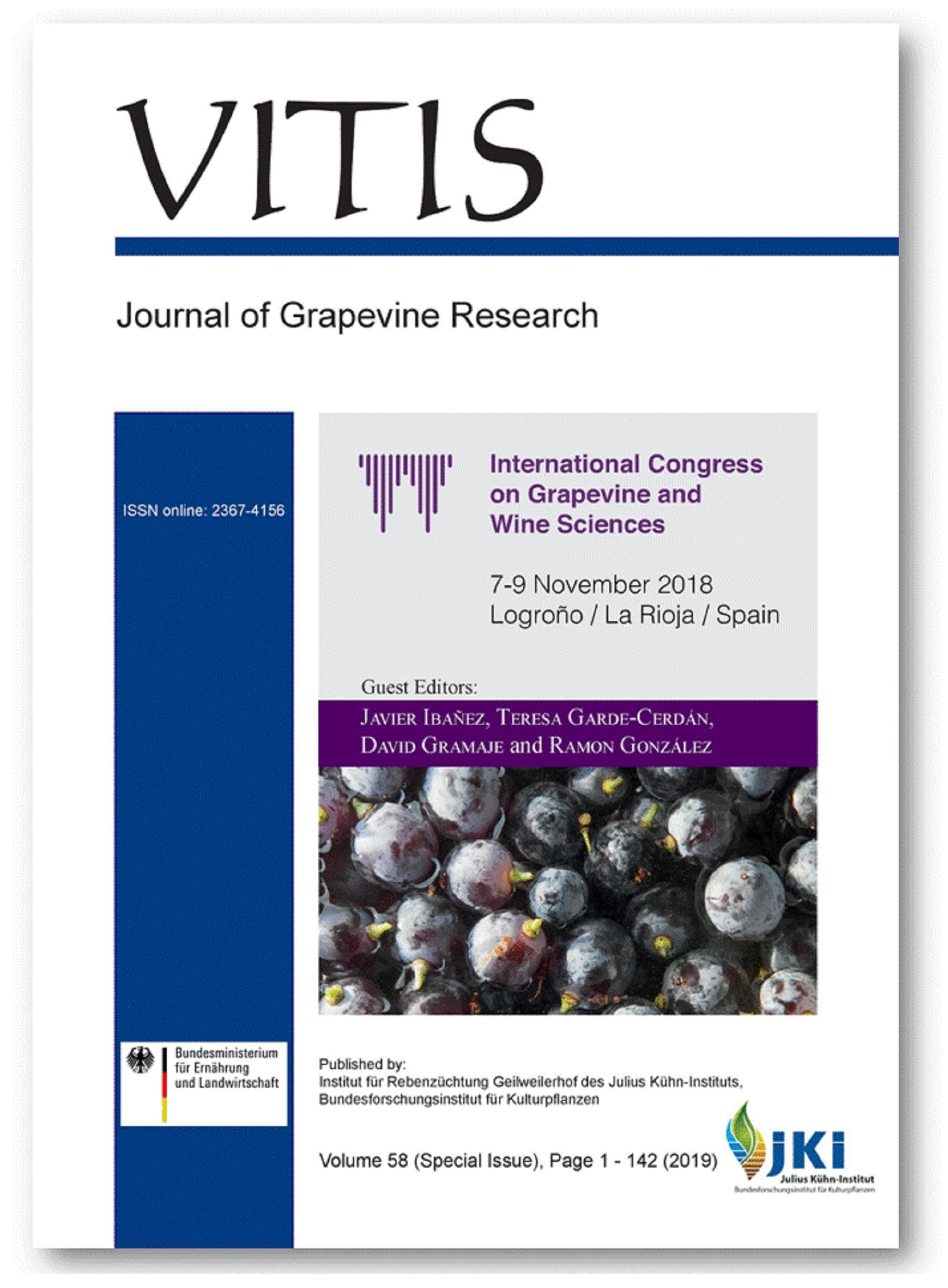 View Vol. 58 (2019): Vitis (Special Issue)