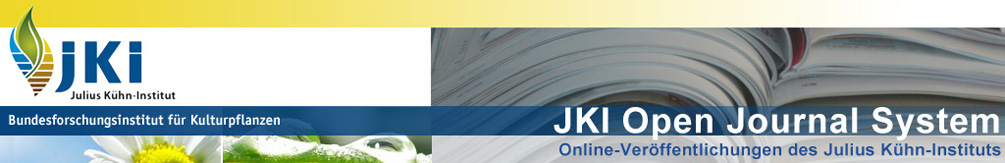 Online-Veröffentlichungen des Julius Kühn-Instituts